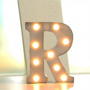Marquee Letters 23cm Busy Lizzy Creations